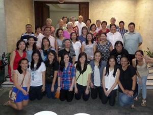 Mit den GCL-Mitgliedern aus der Region Manila