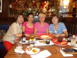Abendessen mit Nati und Mayan