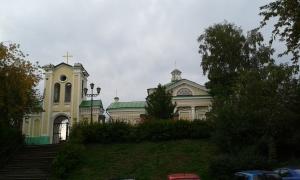 Die katholische Kirche in Tomsk